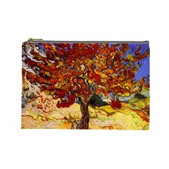 Vincent Van Gogh Mulberry Tree Cosmetic Bag (large) by MasterpiecesOfArt