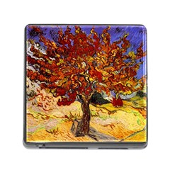 Vincent Van Gogh Mulberry Tree Memory Card Reader With Storage (square) by MasterpiecesOfArt
