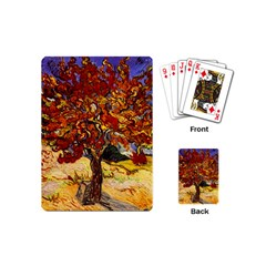 Vincent Van Gogh Mulberry Tree Playing Cards (mini) by MasterpiecesOfArt