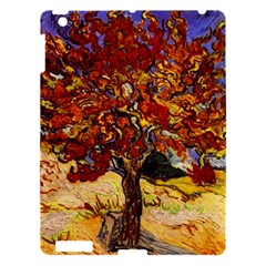 Vincent Van Gogh Mulberry Tree Apple Ipad 3/4 Hardshell Case by MasterpiecesOfArt