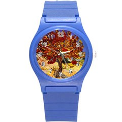 Vincent Van Gogh Mulberry Tree Plastic Sport Watch (small) by MasterpiecesOfArt
