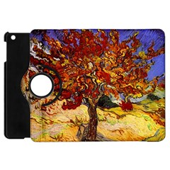 Vincent Van Gogh Mulberry Tree Apple Ipad Mini Flip 360 Case by MasterpiecesOfArt