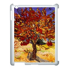 Vincent Van Gogh Mulberry Tree Apple Ipad 3/4 Case (white) by MasterpiecesOfArt