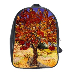 Vincent Van Gogh Mulberry Tree School Bag (xl) by MasterpiecesOfArt
