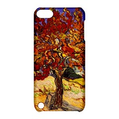 Vincent Van Gogh Mulberry Tree Apple Ipod Touch 5 Hardshell Case With Stand by MasterpiecesOfArt