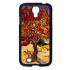 Vincent Van Gogh Mulberry Tree Samsung Galaxy S4 I9500/ I9505 Case (black) by MasterpiecesOfArt
