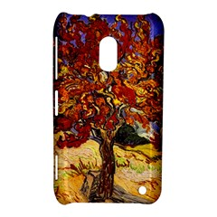 Vincent Van Gogh Mulberry Tree Nokia Lumia 620 Hardshell Case by MasterpiecesOfArt