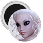 Fairy Elfin Elf Nymph Faerie 3  Button Magnet