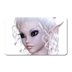 Fairy Elfin Elf Nymph Faerie Magnet (rectangular) by goldenjackal