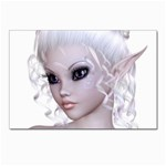 Fairy Elfin Elf Nymph Faerie Postcard 4 x 6  (10 Pack)