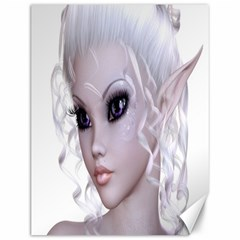 Fairy Elfin Elf Nymph Faerie Canvas 12  X 16  (unframed) by goldenjackal