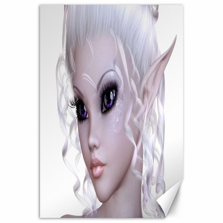 Fairy Elfin Elf Nymph Faerie Canvas 24  x 36  (Unframed)
