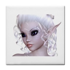 Fairy Elfin Elf Nymph Faerie Face Towel by goldenjackal