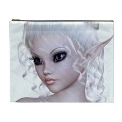 Fairy Elfin Elf Nymph Faerie Cosmetic Bag (xl) by goldenjackal