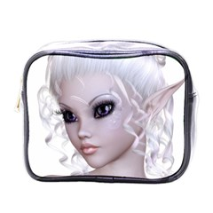 Fairy Elfin Elf Nymph Faerie Mini Travel Toiletry Bag (one Side) by goldenjackal