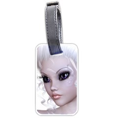 Fairy Elfin Elf Nymph Faerie Luggage Tag (two Sides)