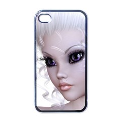 Fairy Elfin Elf Nymph Faerie Apple Iphone 4 Case (black) by goldenjackal
