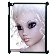 Fairy Elfin Elf Nymph Faerie Apple Ipad 2 Case (black) by goldenjackal