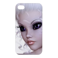 Faerie Nymph Fairy Apple Iphone 4/4s Premium Hardshell Case by goldenjackal