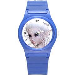 Fairy Elfin Elf Nymph Faerie Plastic Sport Watch (small)