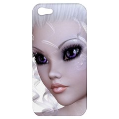 Fairy Elfin Elf Nymph Faerie Apple Iphone 5 Hardshell Case by goldenjackal