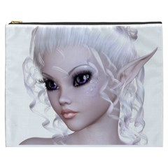 Fairy Elfin Elf Nymph Faerie Cosmetic Bag (xxxl) by goldenjackal