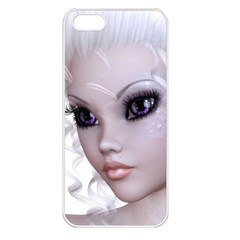 Faerie Nymph Fairy Apple Iphone 5 Seamless Case (white) by goldenjackal