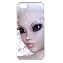 Fairy Elfin Elf Nymph Faerie Apple Seamless Iphone 5 Case (clear) by goldenjackal