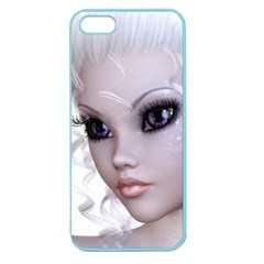 Faerie Nymph Fairy Apple Seamless Iphone 5 Case (color) by goldenjackal