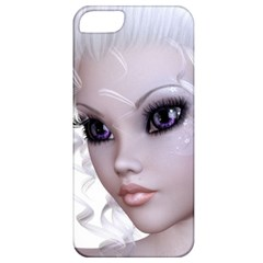 Faerie Nymph Fairy Apple Iphone 5 Classic Hardshell Case by goldenjackal