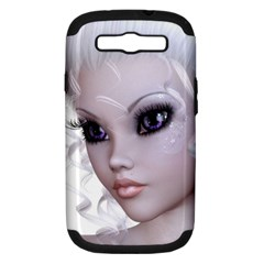 Faerie Nymph Fairy Samsung Galaxy S Iii Hardshell Case (pc+silicone) by goldenjackal
