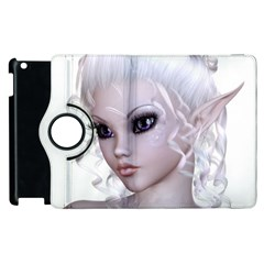Fairy Elfin Elf Nymph Faerie Apple Ipad 3/4 Flip 360 Case by goldenjackal