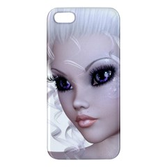 Faerie Nymph Fairy Iphone 5 Premium Hardshell Case by goldenjackal