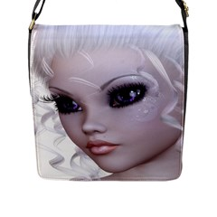 Beautiful Fairy Nymph Faerie Fairytale Flap Closure Messenger Bag (large)