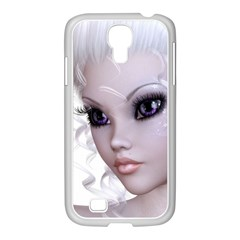 Faerie Nymph Fairy Samsung Galaxy S4 I9500/ I9505 Case (white) by goldenjackal
