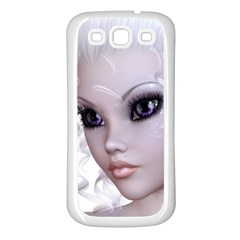 Fairy Elfin Elf Nymph Faerie Samsung Galaxy S3 Back Case (white) by goldenjackal