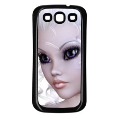 Faerie Nymph Fairy Samsung Galaxy S3 Back Case (black) by goldenjackal