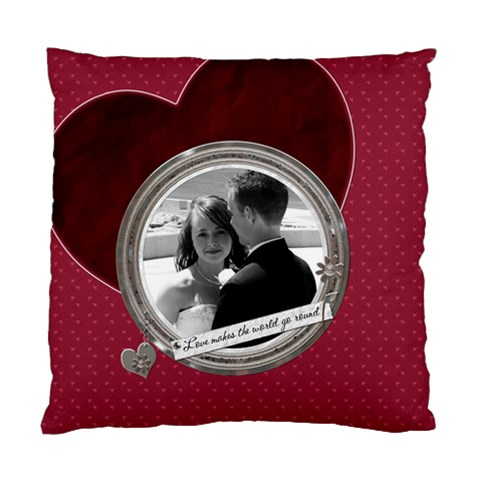 Love Cushion Case (1 Sided) By Lil    Standard Cushion Case (one Side)   T37abbbik07z   Www Artscow Com Front