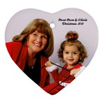Mom-mom  - Ornament (Heart)
