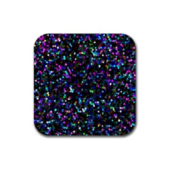 Glitter 1 Drink Coaster (square) by MedusArt