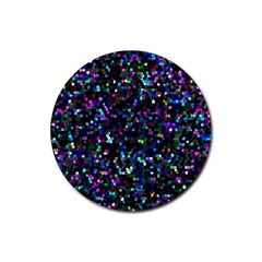 Glitter 1 Drink Coasters 4 Pack (round) by MedusArt