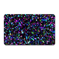 Glitter 1 Magnet (rectangular) by MedusArt