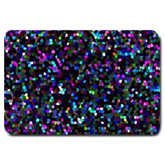 Glitter 1 Large Door Mat by MedusArt
