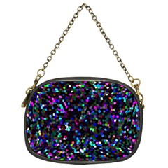 Glitter 1 Chain Purse (two Sided)  by MedusArt