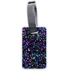 Glitter 1 Luggage Tag (two Sides) by MedusArt
