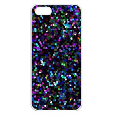 Glitter 1 Apple Iphone 5 Seamless Case (white) by MedusArt