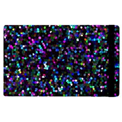 Glitter 1 Apple Ipad 3/4 Flip Case by MedusArt