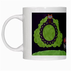 Wonderland Mug By Cherish Collages   White Mug   H9ttcgm9ti5g   Www Artscow Com Left