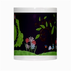 Wonderland Mug By Cherish Collages   White Mug   H9ttcgm9ti5g   Www Artscow Com Center