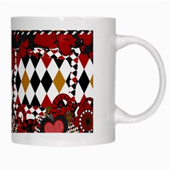 Hearts Mug By Cherish Collages   White Mug   Yg0thw1a6eoe   Www Artscow Com Right